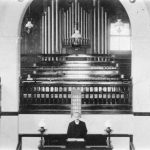 inside Fleckney Baptist Church 1911